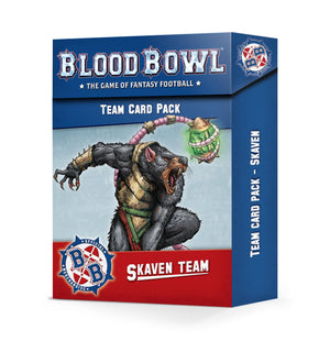 Games Workshop Skaven Team Card Pack (1 per person)