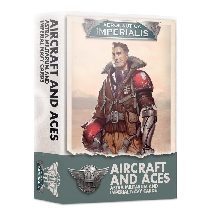 Games Workshop Aeronautica Imperialis: Aircraft and Aces – Astra Militarum and Imperial Navy Card