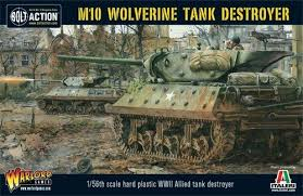 Bolt Action: M10 Tank Destroyer/Wolverine (Plastic Box)