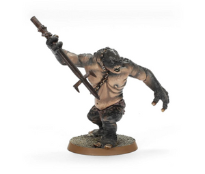 MADE TO ORDER - Cave Troll with Chain & Spear