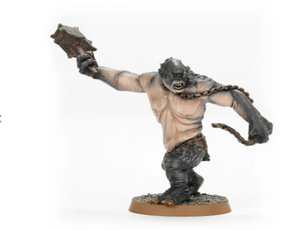 MADE TO ORDER - Cave Troll with Chain & Hammer