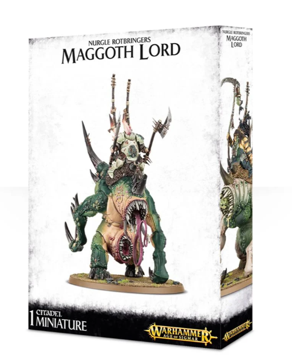 Games Workshop  Morbidex Twiceborn/Bloab Rotspawned/Orghotts Daemonspew