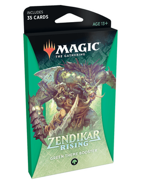 MTG: Zendikar Rising Theme Booster Green