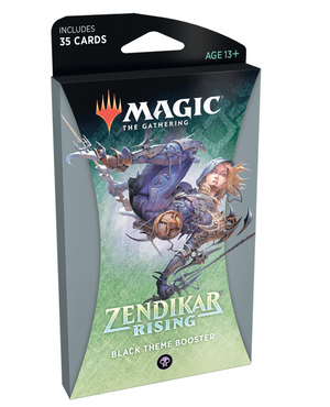 MTG: Zendikar Rising Theme Booster Black