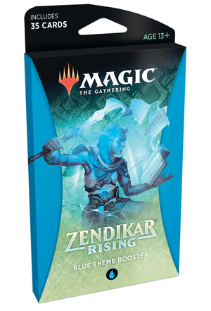 MTG: Zendikar Rising Theme Booster Blue
