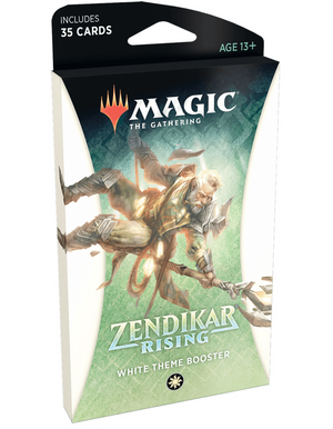 MTG: Zendikar Rising Theme Booster White