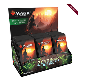 Wizards of the Coast MTG: Zendikar Rising Set Booster Display