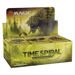 Magic The Gathering: Time Spiral Remastered: Draft Booster Box Of 36