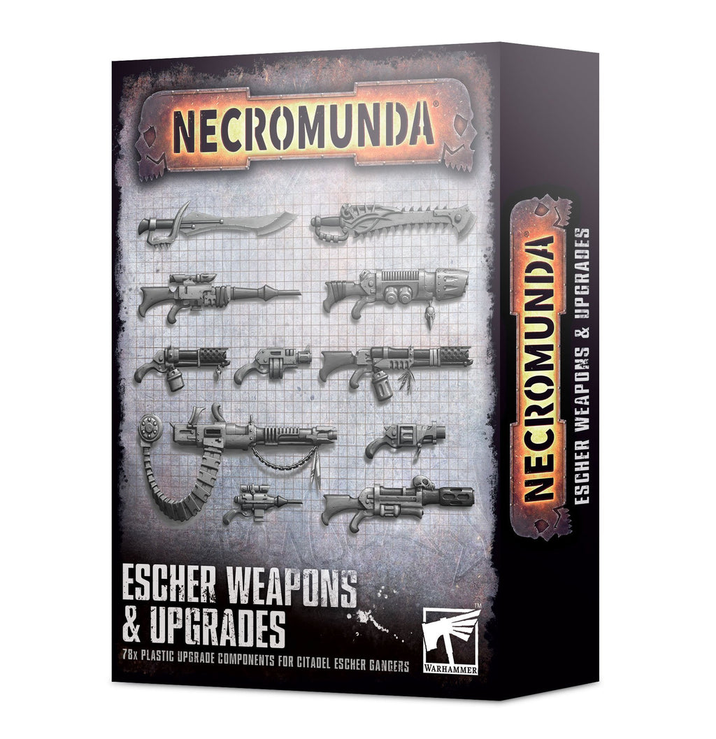 Games Workshop Escher Weapons & Upgrades