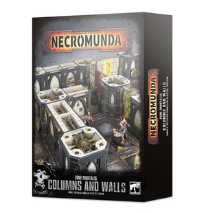 Games Workshop Necromunda Zone Mortalis Columns and Walls