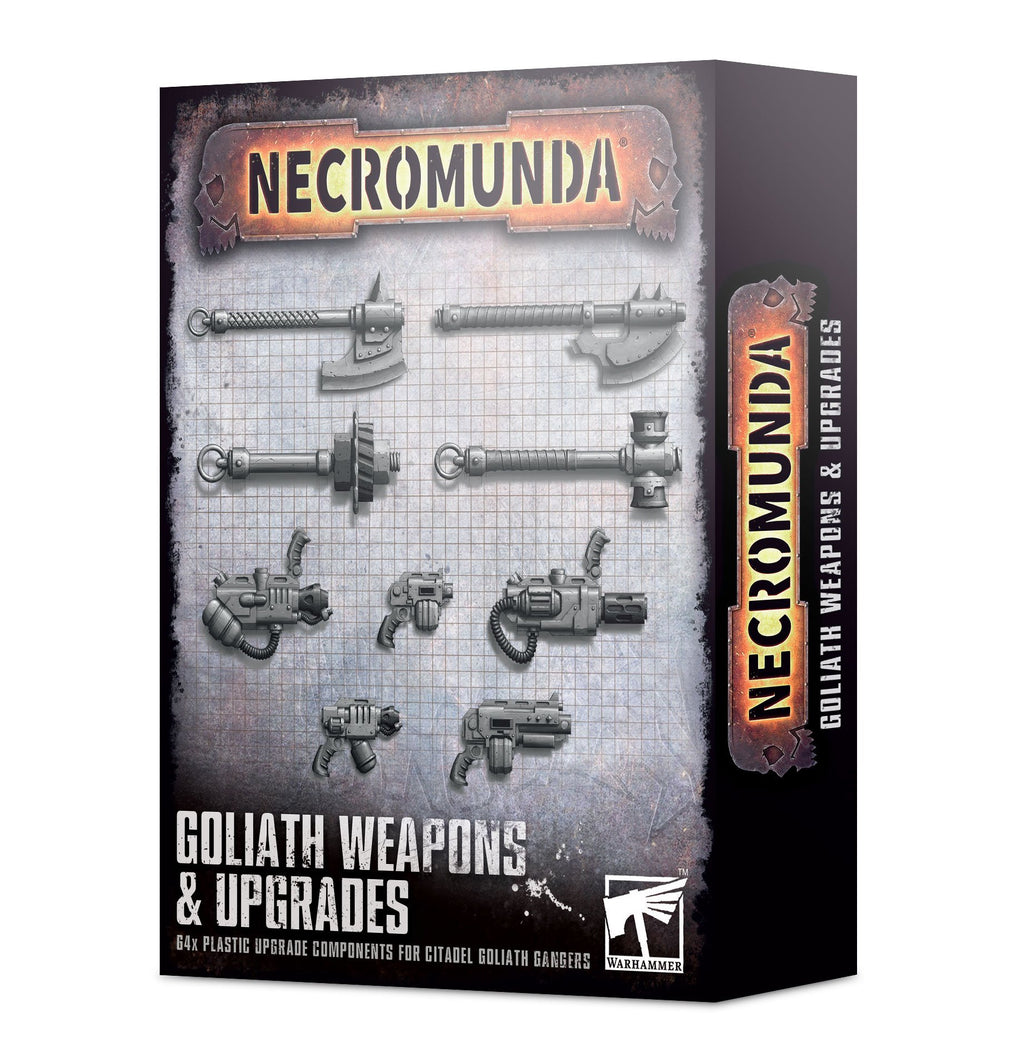 Games Workshop  Goliath Weapons & Upgrades