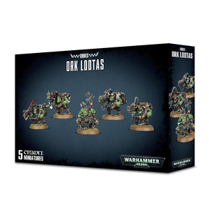 Games Workshop Ork Lootas /  Burna Boyz