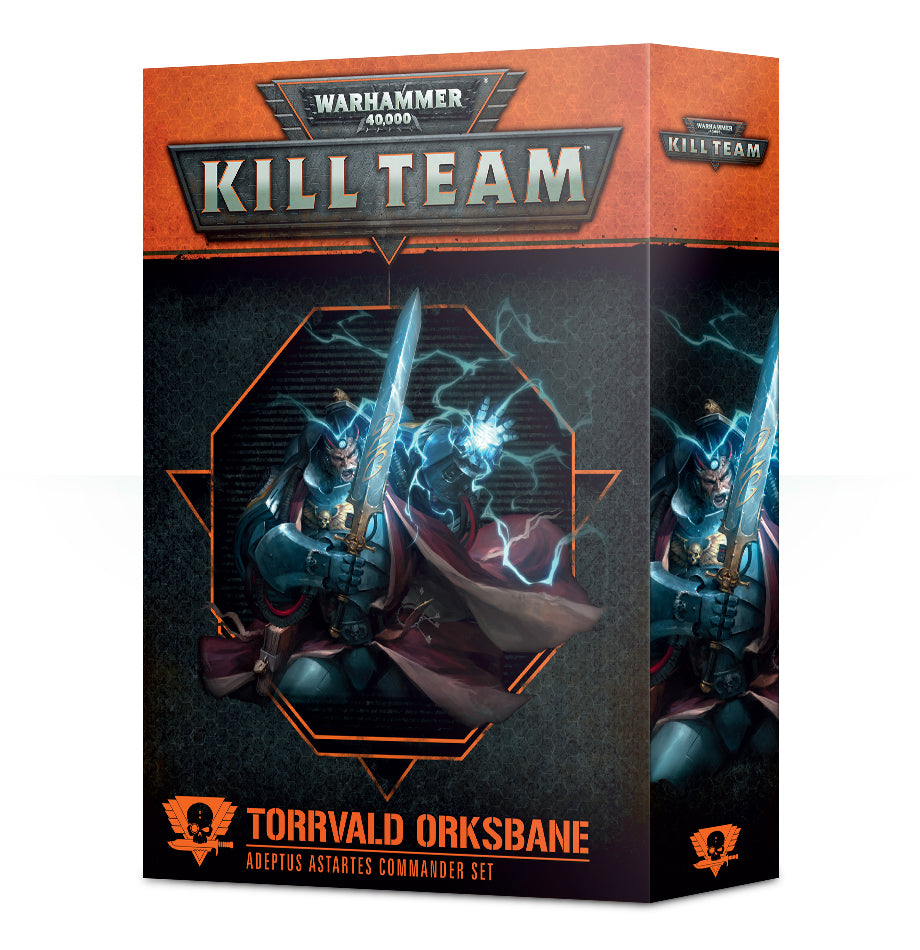Games Workshop Kill Team Commander Torrvald Orksbane