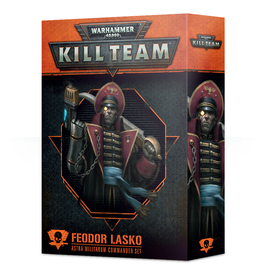 Games Workshop Kill Team Commander Feodor Lasko
