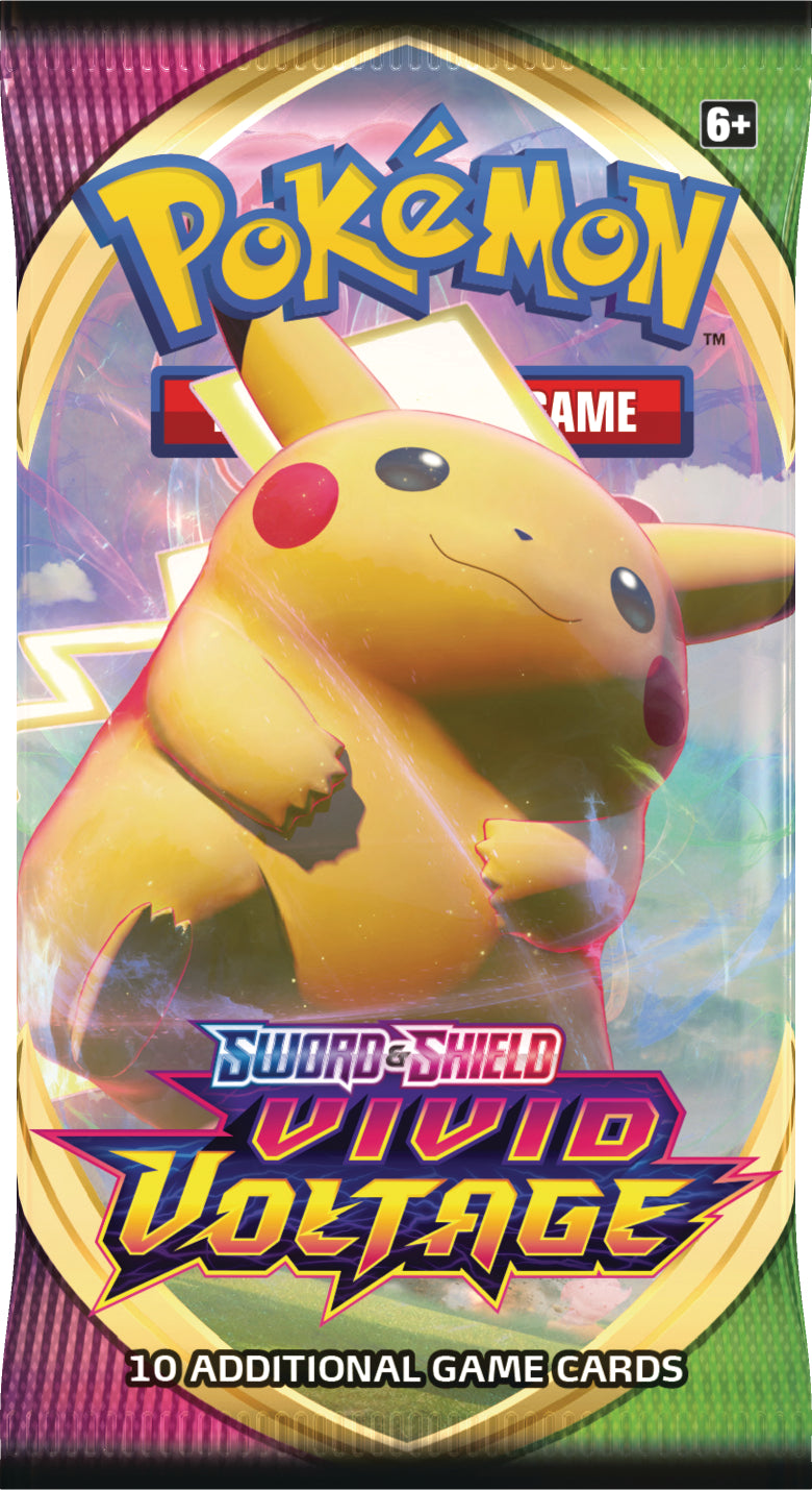 Pokemon TCG: Sword & Shield 4 Vivid Voltage  Booster