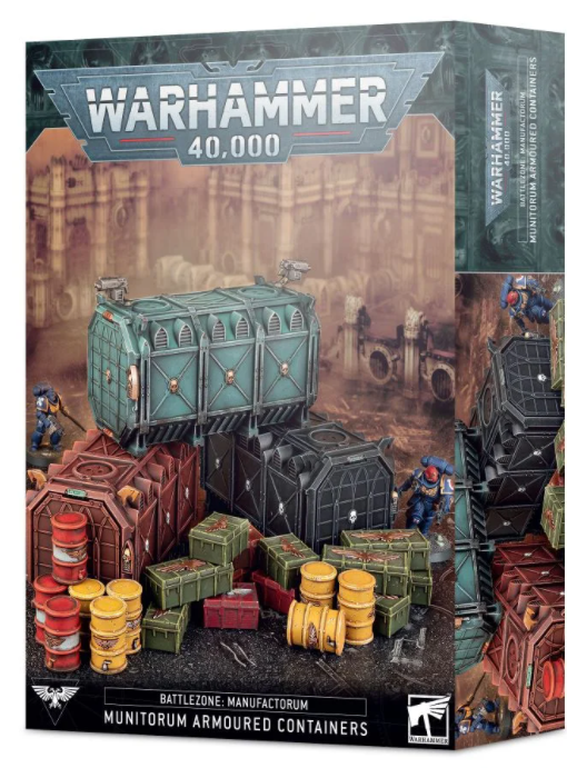 Games Workshop Battlezone: Manufactorum – Munitorum Armoured Containers