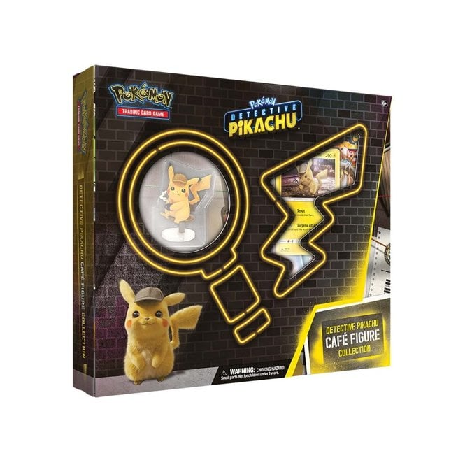 Pokemon Tcg Detective Pikachu Cafe Figure Collection Brand