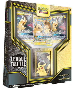 POKEMON - LEAGUE BATTLE DECKS  PIKACHU & ZEKROM-GX