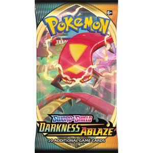 POKEMON Booster Pack (10 Cards) - Sword and Shield Darkness Ablaze