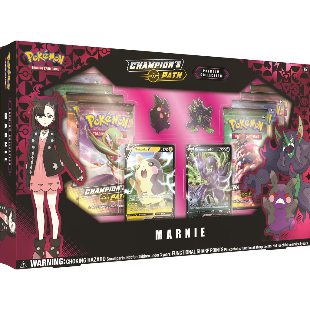 Pokemon TCG: Champions Path Premium Collection - Marnie