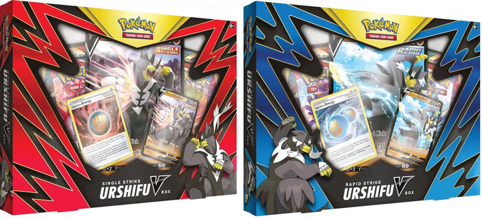 Pokémon TCG: Single/Rapid Strike Urshifu V Box