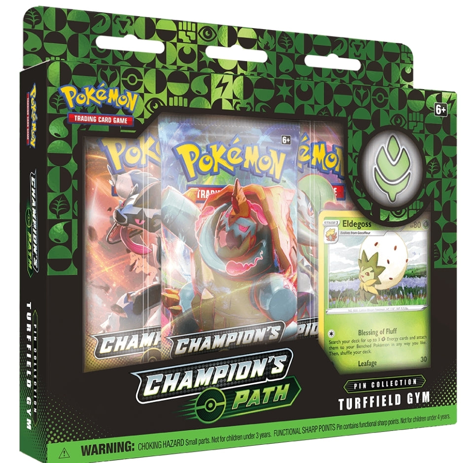 Pokemon TCG: Champions Path Pin Collection - Turffield