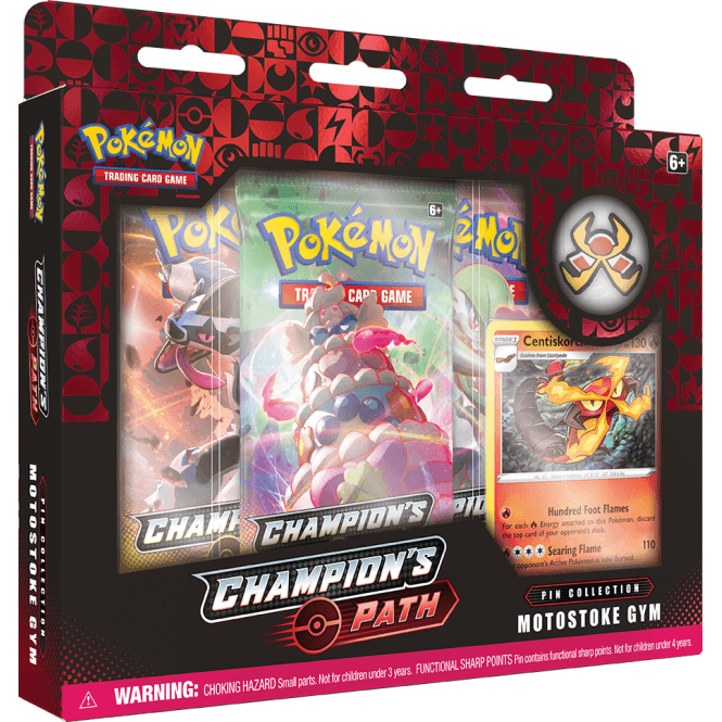 Pokemon TCG: Champion's Path Pin Collection -  and Motostoke Gyms