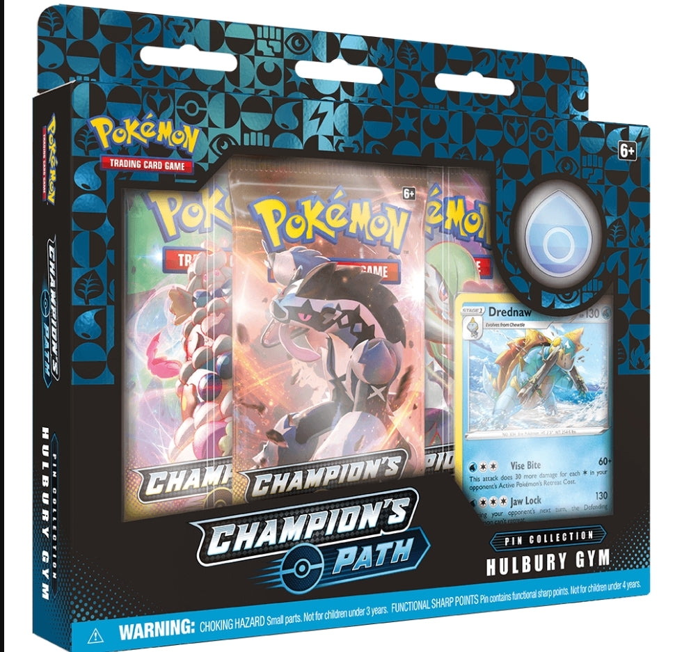 Pokemon TCG: Champions Path Pin Collection -  Hulbury