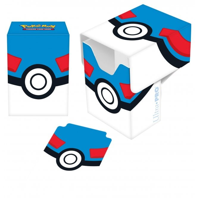 Pokemon TCG Pokemon Great Ball Full View Deck Box