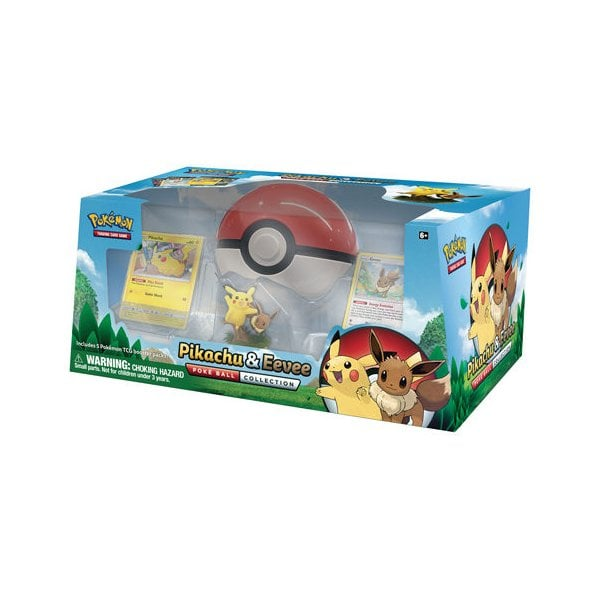 POKEMON : Pikachu & Eevee Poke Ball Collection