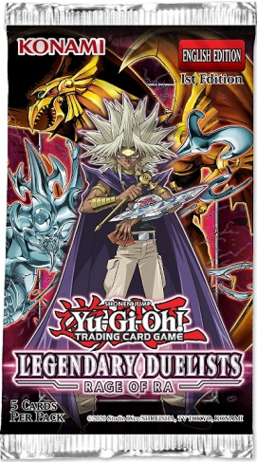 Yu-Gi-Oh! - Legendary Duelists - Rage Of Ra booster unlimited edition