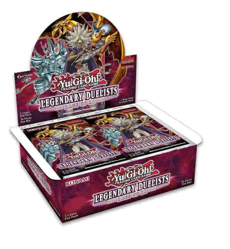 Yu-Gi-Oh! - Legendary Duelists - Rage Of Ra - Booster Box (36 Packs) unlimited edition