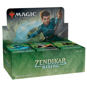 Magic the Gathering - Zendikar Rising - Draft Booster Box (36 Packs)