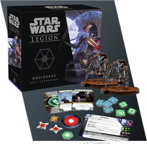 Star Wars Legion: Separatist Droidekas Unit Expansion
