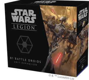STAR WARS: LEGION-B1 Battle Droids Unit Expansion