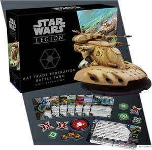 STAR WARS: LEGION-AAT Trade Federation Battle Tank Unit Expansion