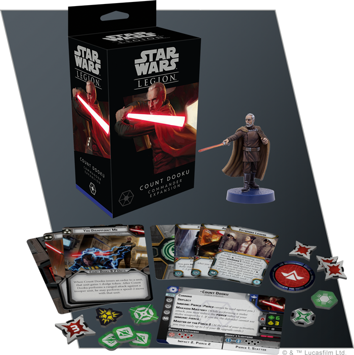 Legion Count Dooku Commander Expansion