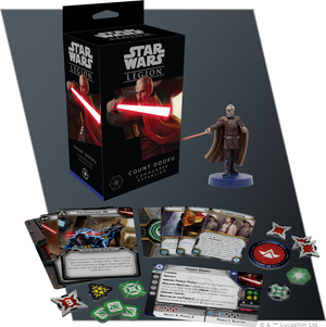STAR WARS: LEGION-Legion Count Dooku Commander Expansion