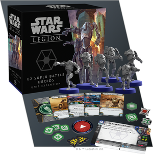 STAR WARS: LEGION-B2 Super Battle Droids Unit Expansion