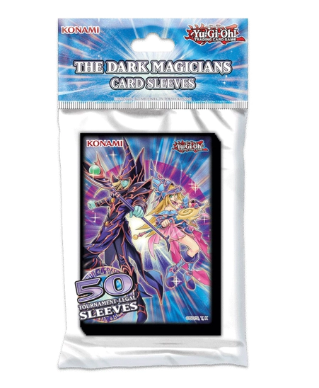 Yu-Gi-Oh! TCG The Dark Magicians Card Sleeves 50 Pack