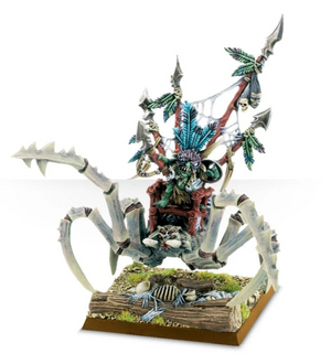 Games Workshop Scuttleboss on Gigantic Spider