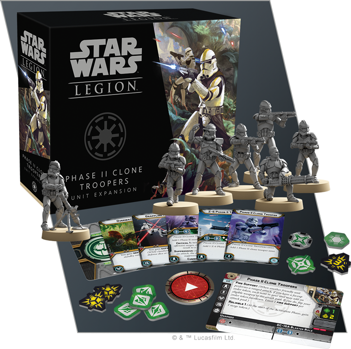 STAR WARS: LEGION-Phase II Clone Troopers Unit Expansion