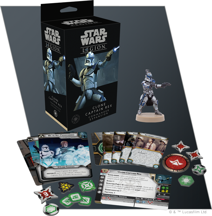 Legion Clone Captain Rex Commander Expansion