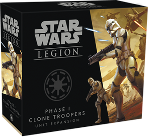 STAR WARS: LEGION-Phase I Clone Troopers Unit Expansion