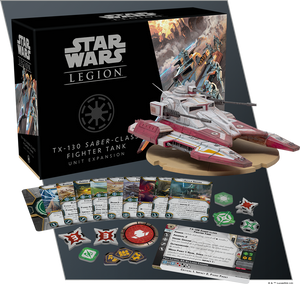 STAR WARS: LEGION-TX-130 Saber-Class Fighter Tank Unit Expansion