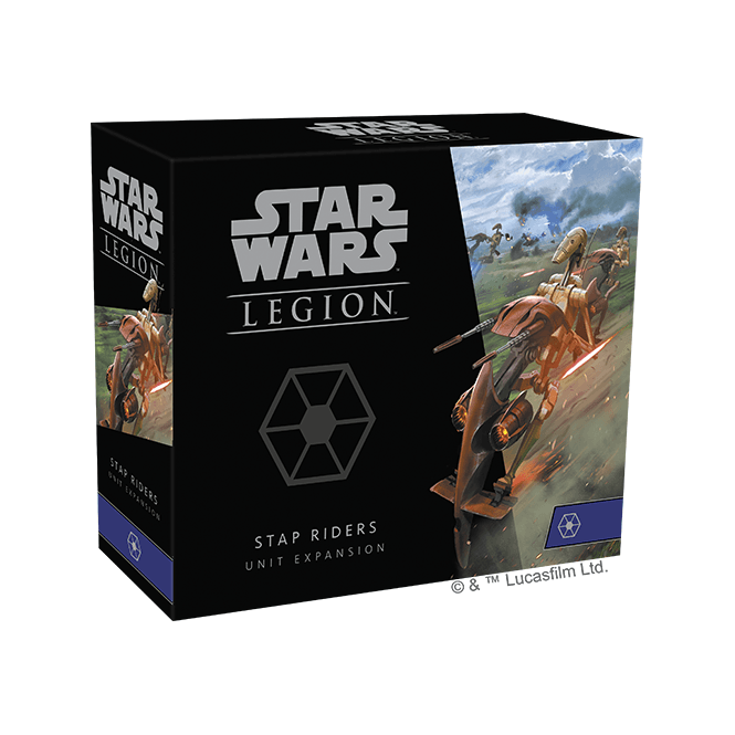 STAR WARS: LEGION - STAP RIDERS UNIT EXPANSION