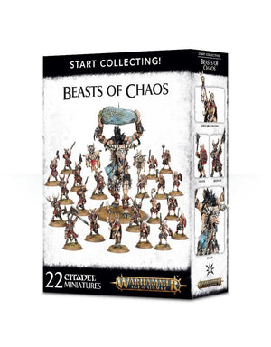 Games Workshop Start Collecting! Beasts Of Chaos Box Set
