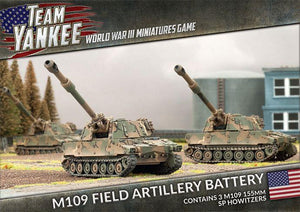 M109 Field Artillery Battery - Team Yankee Americans - TUBX04