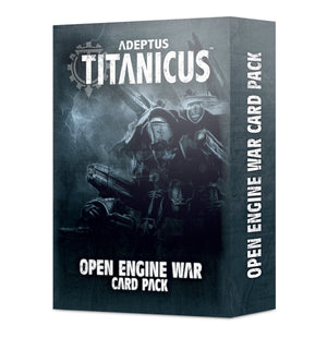 Games Workshop AD/TITANICUS: OPEN ENGINE WAR CARD PACK