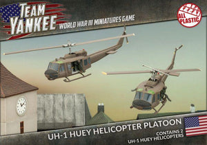 UH-1 Huey Transport Helicopter Platoon - Team Yankee Americans - TUBX07